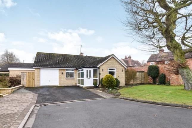 Thumbnail Bungalow for sale in Manor Gardens, Aldington, Evesham, Worcestershire
