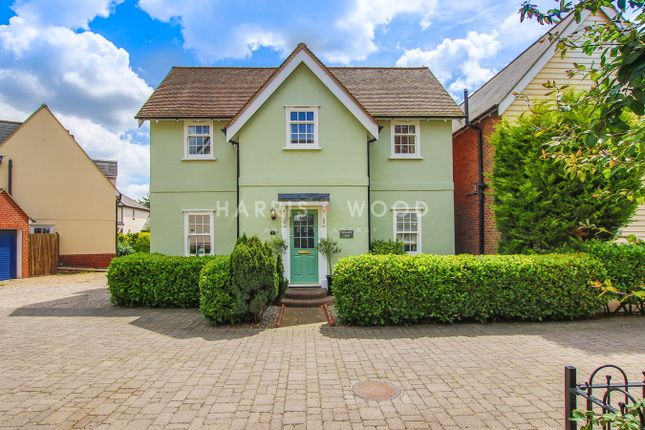 Thumbnail Detached house for sale in Cobble Row, Stanway, Colchester