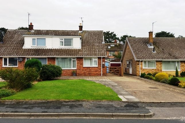 Thumbnail Semi-detached bungalow to rent in Wayside Crescent, Bridlington