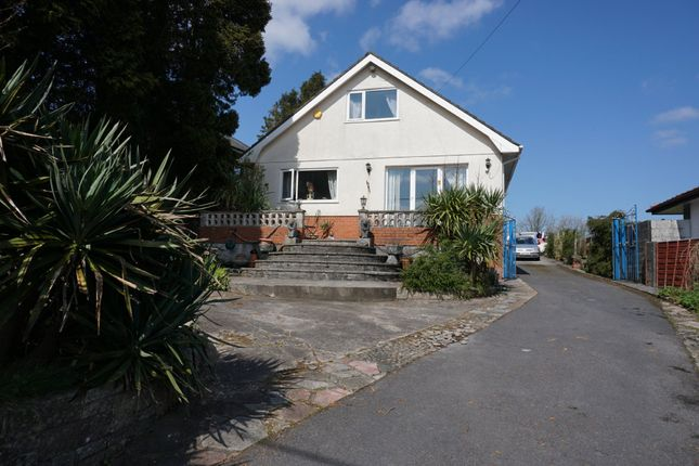 Thumbnail Detached bungalow for sale in Heol Bryngwili, Cross Hands, Llanelli