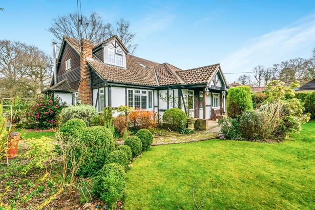 Thumbnail Bungalow for sale in Domewood, Copthorne, Crawley