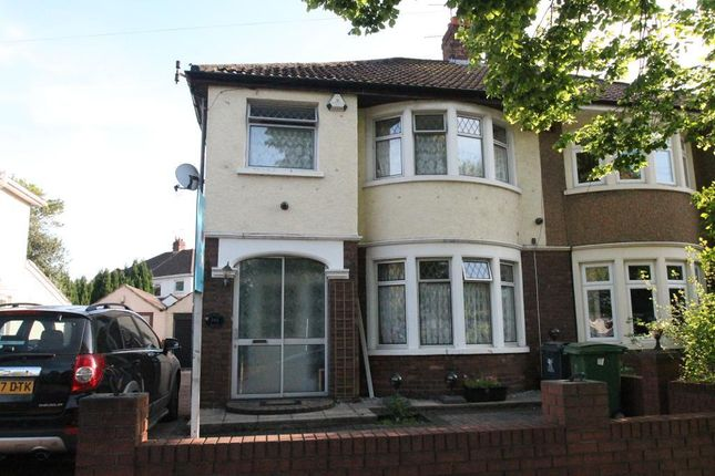 Thumbnail Semi-detached house for sale in Albany Road, Roath, Cardiff, South Glamorgan