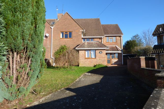 Thumbnail Semi-detached house to rent in Fox Lane, Stanmore, Winchester, Hampshire