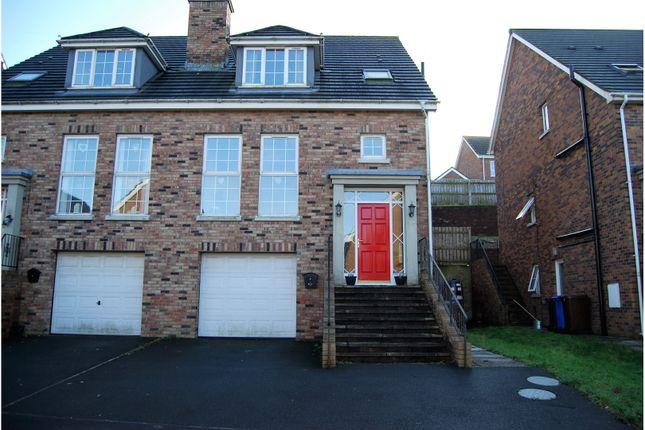 Thumbnail Semi-detached house for sale in Demesne Park, Downpatrick