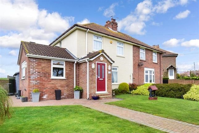 2 bed semi-detached house for sale in Adelaide Road, Elvington, Dover, Kent CT15