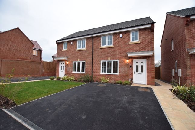 Thumbnail Semi-detached house to rent in Dudley Drive, Highfields, Littleover