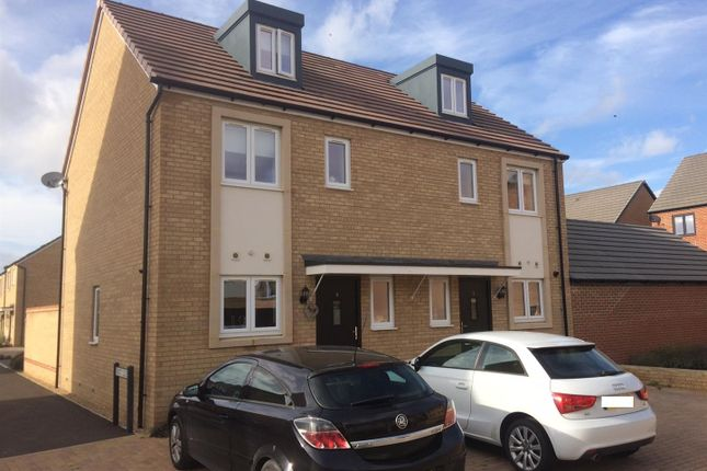 Thumbnail 3 bed semi-detached house for sale in Kite Way, Hampton Vale, Peterborough