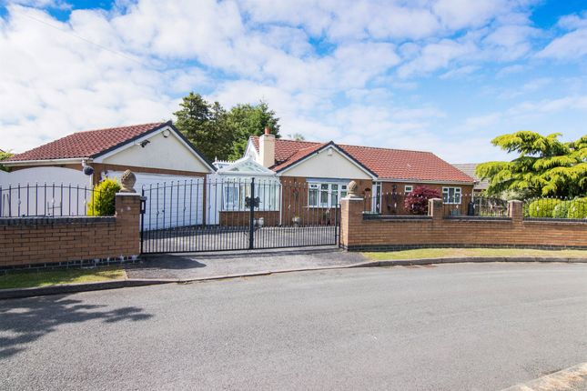 Thumbnail Detached bungalow for sale in Regal Close, Great Sutton, Ellesmere Port