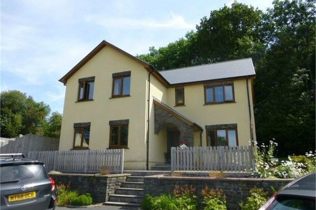 4 bed detached house for sale in Cysgod-Y-Coed, Cwmann, Lampeter, Carmarthenshire