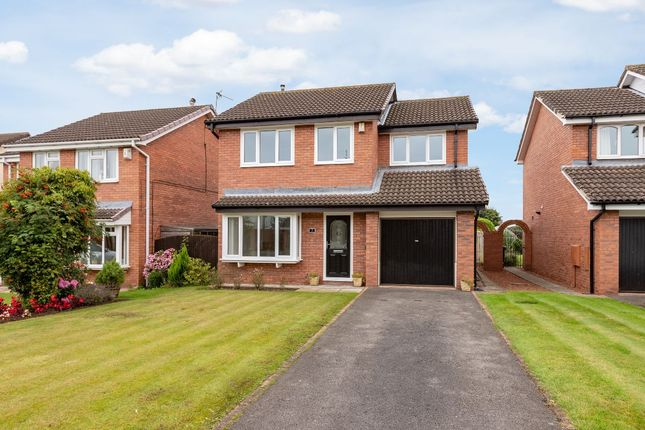 Thumbnail Detached house for sale in Evesham Grove, Hurworth, Darlington