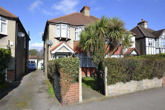 Thumbnail Semi-detached house for sale in Croydon Road, Wallington, Surrey