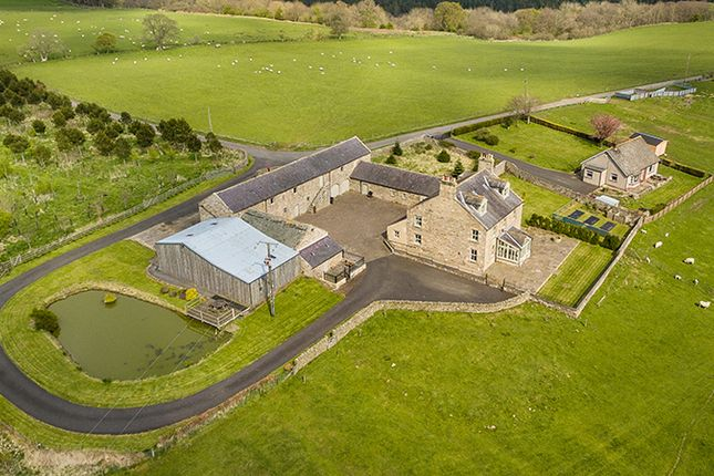Thumbnail Farmhouse for sale in Anton Hill Farm, Wark, Hexham, Northumberland