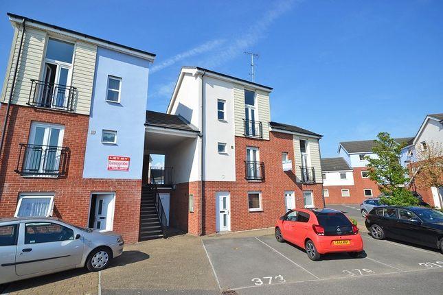 Thumbnail Flat to rent in Ariel Close, Newport