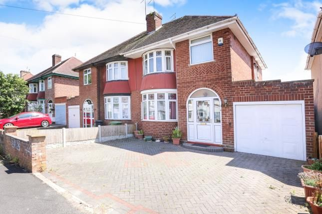 Thumbnail Semi-detached house for sale in Capstone Avenue, Oxley, Wolverhampton, West Midlands