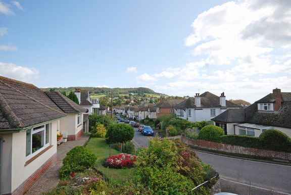 View To Front of Connaught Close, Sidmouth EX10