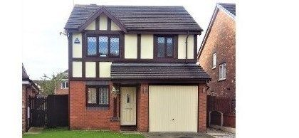 Thumbnail Detached house for sale in Hever Drive, Liverpool