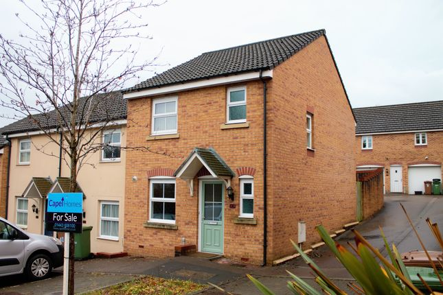 Thumbnail Terraced house for sale in Dragon Way, Hengoed