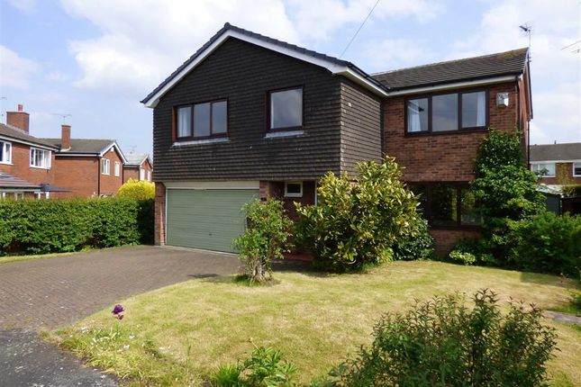 Thumbnail Detached house for sale in Henshall Drive, Sandbach