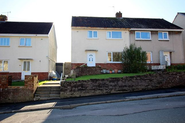 Thumbnail Semi-detached house to rent in Llangewydd Road, Bridgend