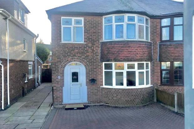 Thumbnail Semi-detached house to rent in Bentley Road North, Walsall