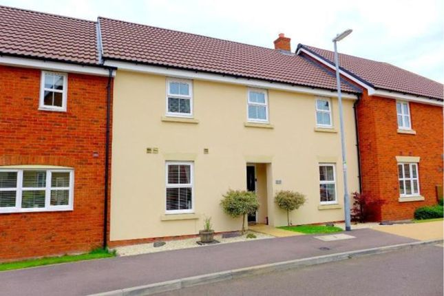 Thumbnail Terraced house for sale in Ridge View, Houghton Conquest