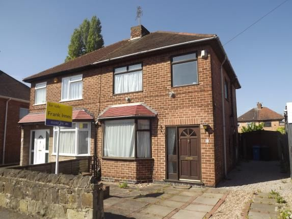 Thumbnail Semi-detached house for sale in Wilson Road, Chaddesden, Derby, Derbyshire