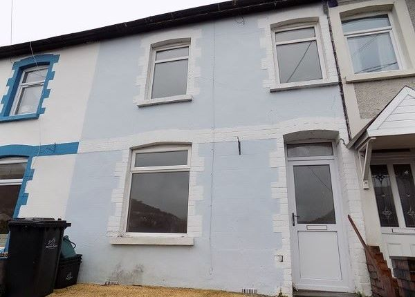 Thumbnail Terraced house to rent in West View Terrace, Six Bells, Abertillery