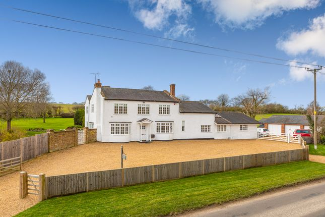 Thumbnail Detached house for sale in Hare Street Road, Anstey, Hertfordshire