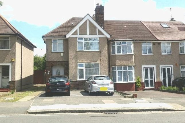 Thumbnail Semi-detached house to rent in Melville Avenue, Greenford