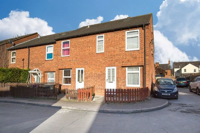 Thumbnail End terrace house for sale in Forge Close, Hitchin