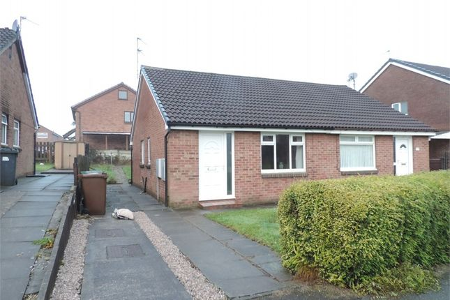 Thumbnail Semi-detached bungalow to rent in Exeter Avenue, Radcliffe, Manchester