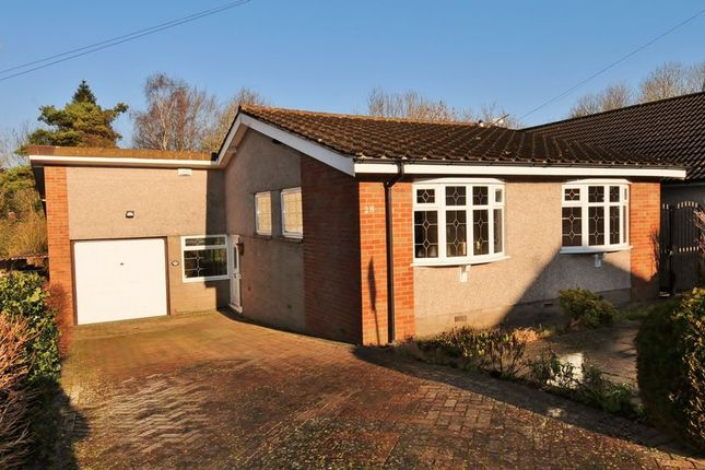 Thumbnail Detached bungalow for sale in Holsom Close, Stockwood, Bristol