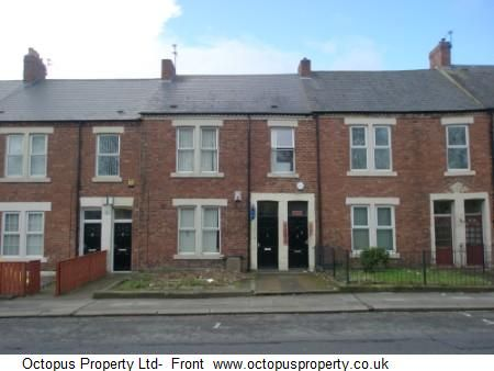Thumbnail Terraced house to rent in Claremont Street, Newcastle Upon Tyne