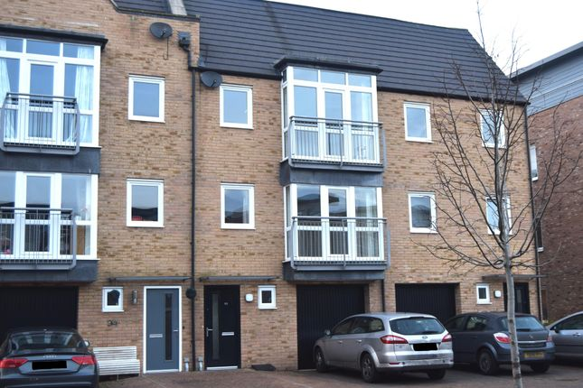 Thumbnail Town house to rent in Red Admiral Court, Little Paxton, St. Neots