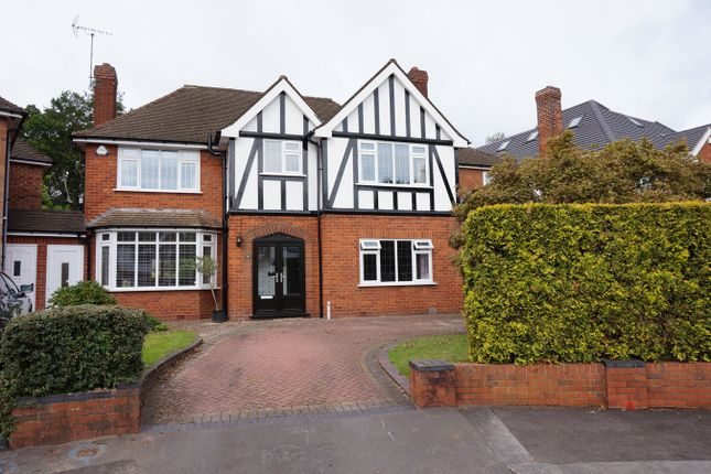Thumbnail Detached house to rent in Ryefield Close, Solihull