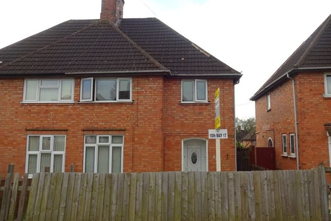 Thumbnail Semi-detached house for sale in Winstanley Drive, Braunstone, Leicester