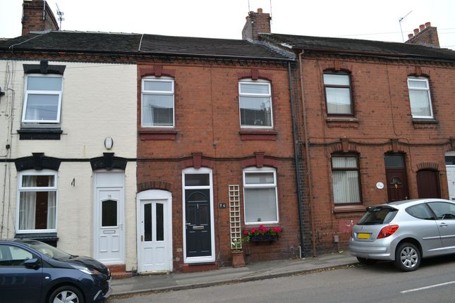 Thumbnail Terraced house for sale in Apedale Road, Apedale, Chesterton