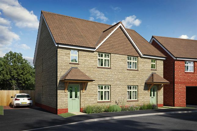 Thumbnail Semi-detached house for sale in Coppice Close, Chippenham