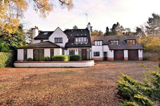 Thumbnail Detached house for sale in East Winch Road, Ashwicken, King's Lynn