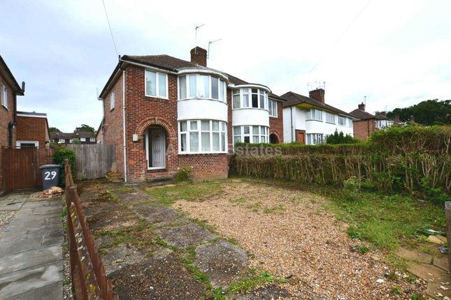 Thumbnail 3 bed terraced house to rent in Windermere Road, Reading, England