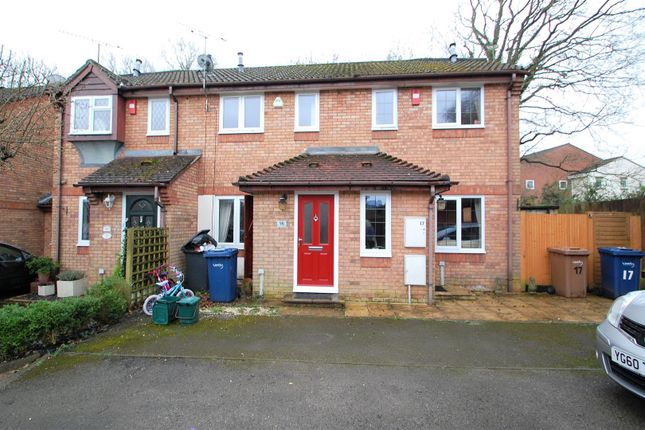 Thumbnail Terraced house to rent in Weywood Close, Farnham