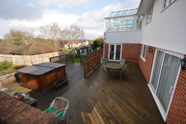 Garden of Merriefield Avenue, Broadstone BH18