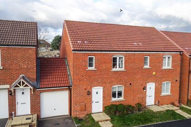 Semi-detached house in  The Mead  Keynsham  Bristol B Bristol