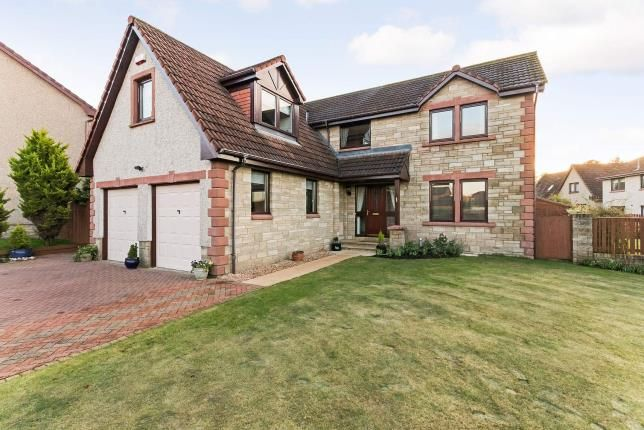 Thumbnail Detached house for sale in Nevis Drive, Murieston, Livingston, West Lothian