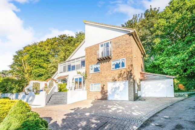 Thumbnail Detached house for sale in The Gables, Hillside Road, Hastings