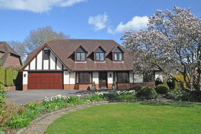 Thumbnail Detached house for sale in Salisbury Road, Shootash, Romsey