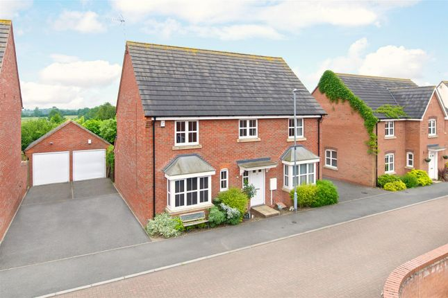 Thumbnail Detached house for sale in Masefield Place, Earl Shilton, Leicester
