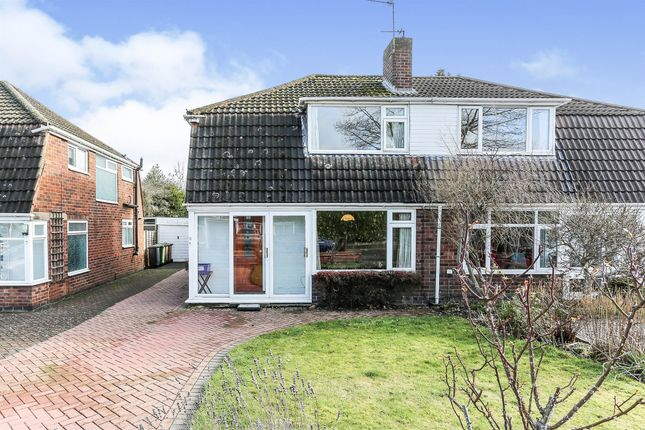 Thumbnail Semi-detached house for sale in Bronte Farm Road, Shirley, Solihull