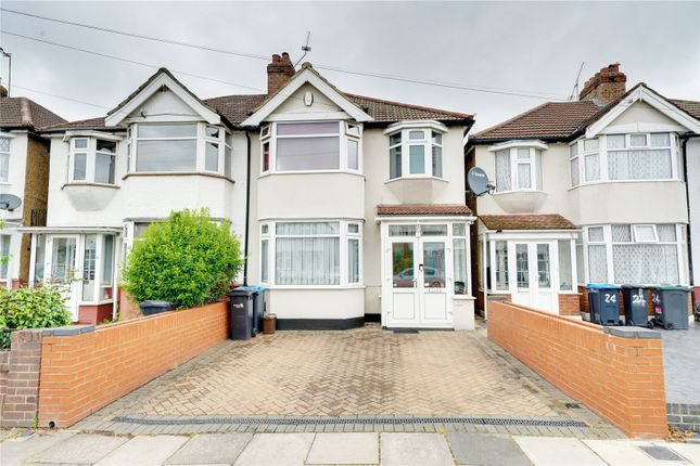 Thumbnail Semi-detached house for sale in Hadleigh Road, Edmonton