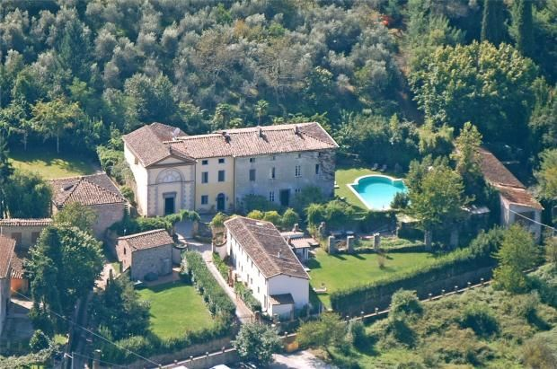 Thumbnail Country house for sale in 19th Century Villa And Estate, Vorno, Lucca, Tuscany